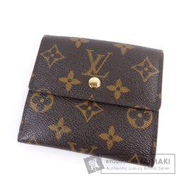 LOUIS VUITTON【ルイ・ヴィトン】 ポルトフォイユエリーズ M60235 二つ折り財布(小銭入れあり) モノグラムキャンバス レディース