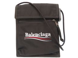 BALENCIAGA【バレンシアガ】 7554 ショルダーバッグ イカットナイロンキャンバス/イカットナイロンキャンバス メンズ