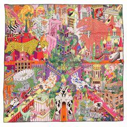 HERMES【エルメス】 スカーフ シルク/シルク レディース