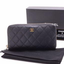 CHANEL【シャネル】 二つ折り財布(小銭入れあり)  ユニセックス