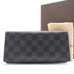 LOUIS VUITTON【ルイ・ヴィトン】 二つ折り財布(小銭入れあり) ダミエグラフィットキャンバス メンズ
