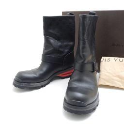 LOUIS VUITTON【ルイ・ヴィトン】 ブーツ ダミエグラフィットキャンバス メンズ