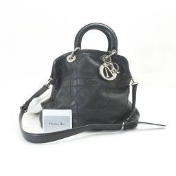 Dior【ディオール】 ハンドバッグ ラムスキン レディース