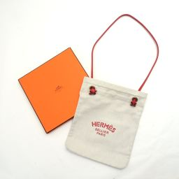 HERMES【エルメス】 アリーヌPM ハンドバッグ キャンバス/レザー レディース