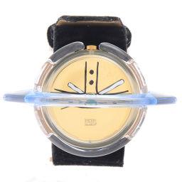 Vivienne Westwood【ヴィヴィアン・ウエストウッド】 腕時計 /レザー/スウェード レディース