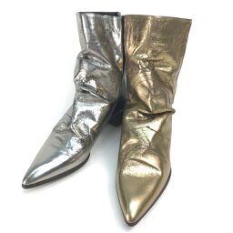 MIHARA YASUHIRO【ミハラヤスヒロ】 靴 ブーツ レザー レディース