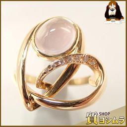 SELECT JEWELRY【セレクトジュエリー】 リング・指輪 /ダイヤモンド/ローズクォーツ レディース