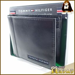 TOMMY HILFIGER【トミーヒルフィガー】 31TL25X023 二つ折り財布(小銭入れあり) レザー メンズ