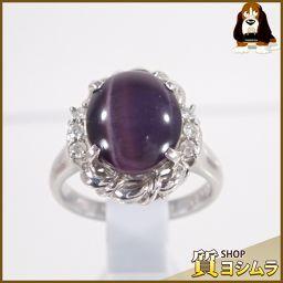 SELECT JEWELRY【セレクトジュエリー】 リング・指輪 Pt 900/ダイヤモンド/紫石 レディース