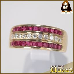 SELECT JEWELRY【セレクトジュエリー】 デザイン リング・指輪 /ルビー/ダイヤモンド レディース