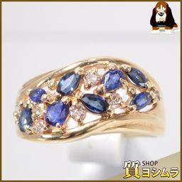 SELECT JEWELRY【セレクトジュエリー】 デザイン リング・指輪 /サファイア/ダイヤモンド レディース