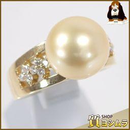 SELECT JEWELRY【セレクトジュエリー】 デザイン リング・指輪 /ゴールデンパール/ダイヤモンド レディース