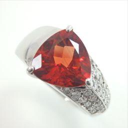 SELECT JEWELRY【セレクトジュエリー】 リング・指輪 Pt 900/ダイヤモンド/アンデシン レディース