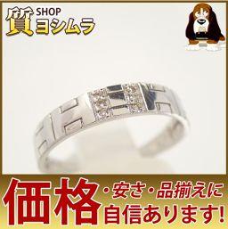 SELECT JEWELRY【セレクトジュエリー】 Hモチーフ リング・指輪 /ダイヤモンド ユニセックス