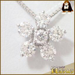 TASAKI【タサキ】 フラワー アジャスター式 ネックレス /ダイヤモンド レディース