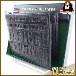 TOMMY HILFIGER【トミーヒルフィガー】 31TL25X022 二つ折り財布(小銭入れあり) レザー メンズ