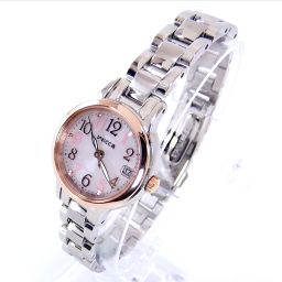 CITIZEN【シチズン】 E011-R007882 KH4-939-91 腕時計 SS/クリスタルガラス レディース