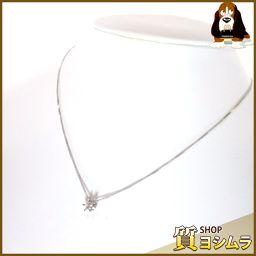 SELECT JEWELRY【セレクトジュエリー】 立て爪 ネックレス /ダイヤモンド レディース