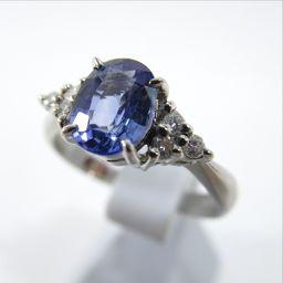 SELECT JEWELRY【セレクトジュエリー】 リング・指輪 Pt 900/サファイア/ダイヤモンド レディース