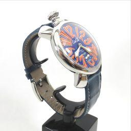 Gaga Milano【ガガ・ミラノ】 腕時計 ステンレススチール メンズ