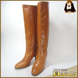 GUCCI【グッチ】 ブーツ レザー レディース