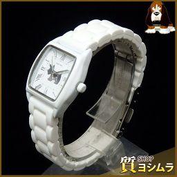 AGATHA【アガタ】 腕時計 ステンレススチール/ラバー レディース