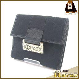 GUCCI【グッチ】 146207 GG 二つ折り財布(小銭入れあり) キャンバス レディース
