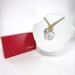 Baccarat【バカラ】 ネックレス クリスタルガラス/布素材 レディース