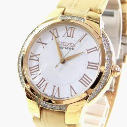 CITIZEN【シチズン】 E031-S110050 腕時計 レザー/ステンレススチール レディース