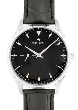 ZENITH【ゼニス】 7545 SS/ レザー 03.2010.681/21.C493 メンズ