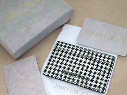 JIMMY CHOO【ジミーチュウ】 161DEAN.PLJ カードケース PVC ユニセックス