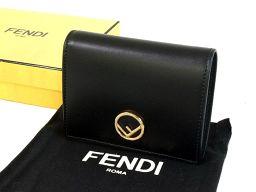FENDI【フェンディ】 8M0387 A0KK F0KUR 二つ折り財布(小銭入れあり) カーフ ユニセックス