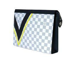 LOUIS VUITTON【ルイ・ヴィトン】 N60049 ポシェット /ダミエ・コーストラインキャンバス メンズ