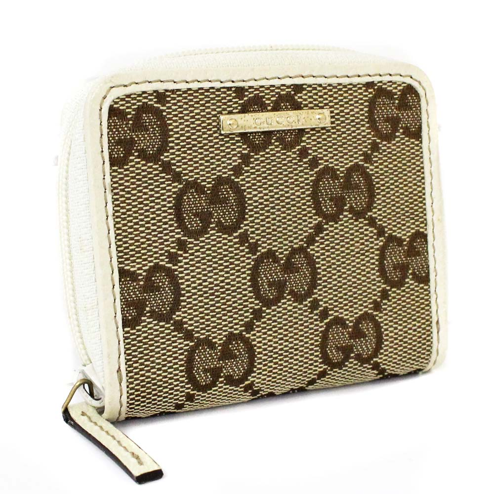 premium selection 489fd fe72d GUCCI グッチ 財布 ラウンドファスナー 115255 コインケース GG ...