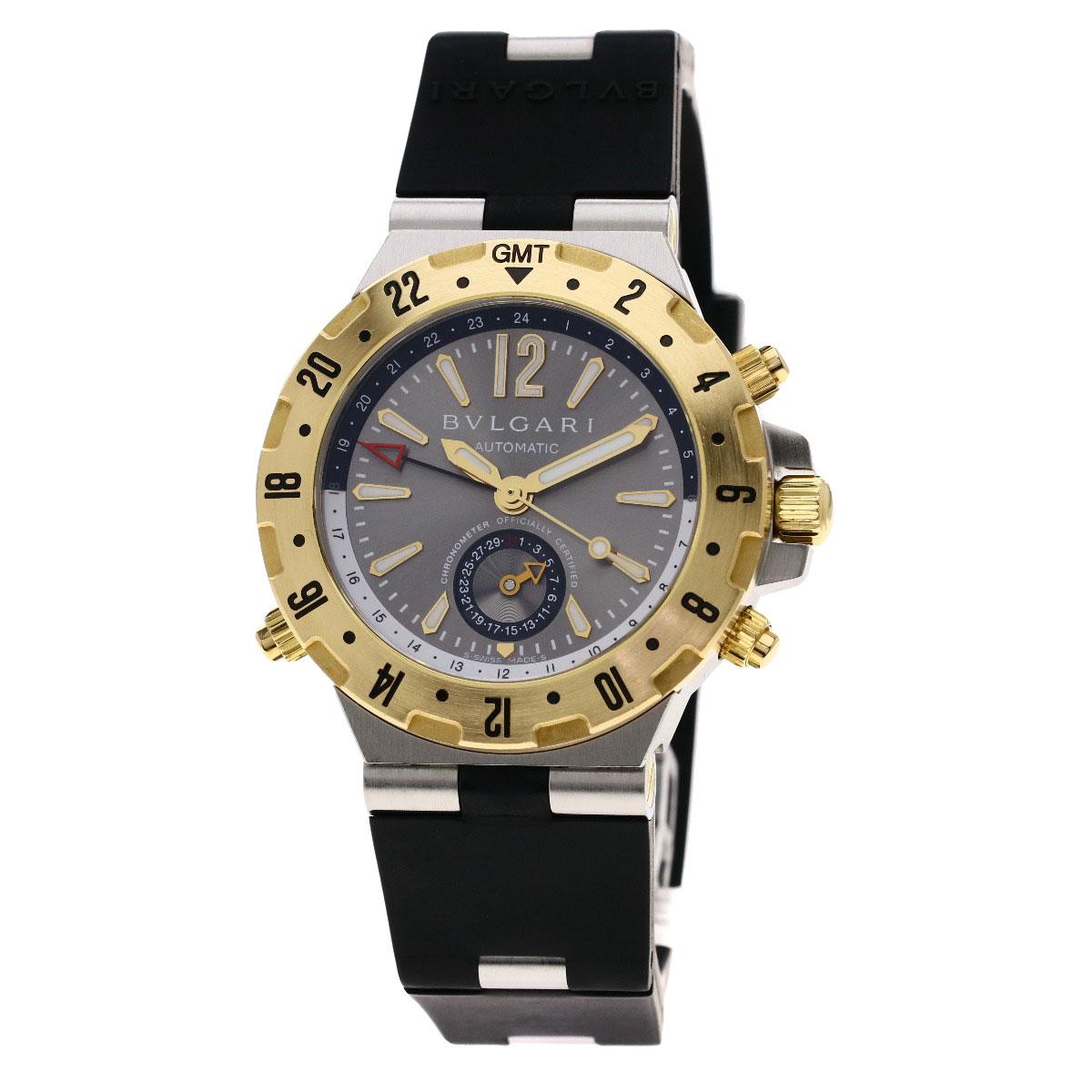 7f3fb8049c6a ブルガリ GMT40C5SGVD ディアゴノ 腕時計メンズ ー 【ブラモ】欲しいブランド品がすぐ見つかる!ネット通販サイト!