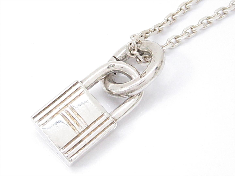 buy popular a5888 bd54b HERMES エルメス カデナネックレス シルバー シルバー(925 ...