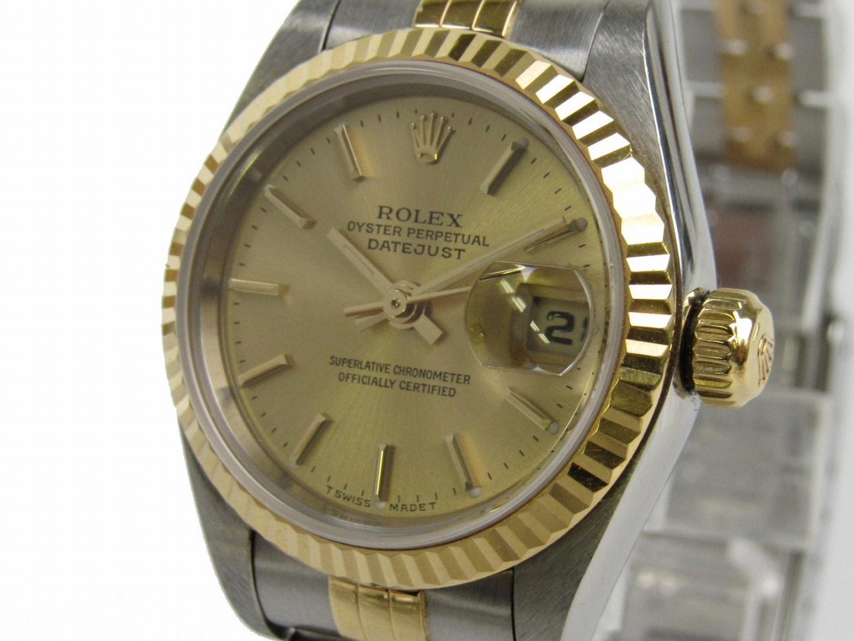 b698c3c1cfc ROLEX Rolex Datejust Kell Kell 79173 Kuld K18YG (750) Kollane Go ー The best  place to buy Brand Bags Watches Jewelry, Bramo!