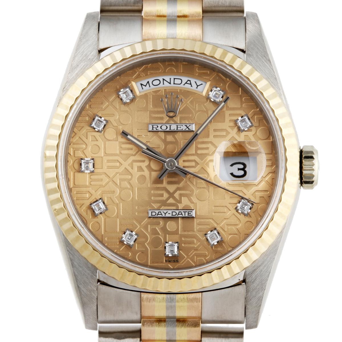 designer fashion 06bb4 160db ROLEX ロレックス 18239BIC×ホワイトゴールド イエローゴールド ...