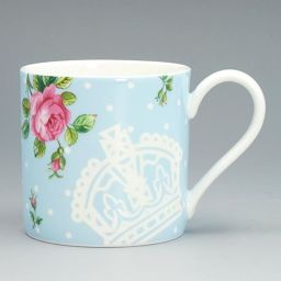 Royal Albert 25842 POLKA BLUE mug single