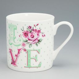 Royal Albert 40002156 LOVE canned mug #