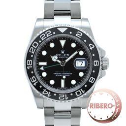 ロレックス GMTマスターII Ref.116710LN V番 スティックダイアル 箱、保証書付 USED