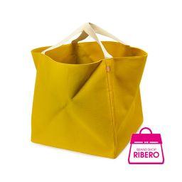 【値下げ】エルメス ズールGM トートバッグ 折り畳みバッグ ビーチバッグ キャンバス ライム 程度AB