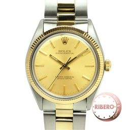 Rolex Oyster Perpetual Ref 1005 made in 1983 SS / YG USED
