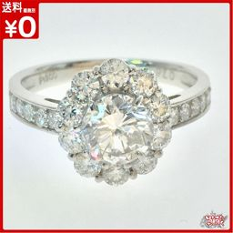 Nova Natura Diamanto 1.049ct Diamanto 0.76ct Totalo 1.809ct Plateno 900 Ringo