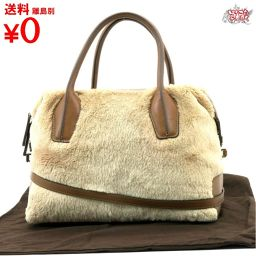 TOD`S Beaver Fur 2WAY Bag