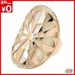 インタルシオ リング ホワイトシェル ダイヤモンド