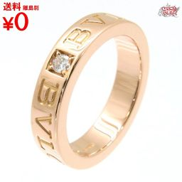 Double logo diamond ring 1PD PG