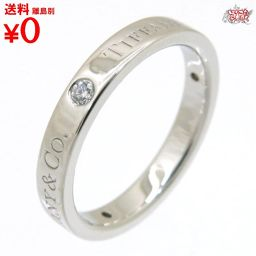 Flat band ring 3 point diamond