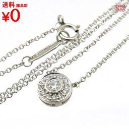 サークレット ダイヤモンド ペンダント ネックレス