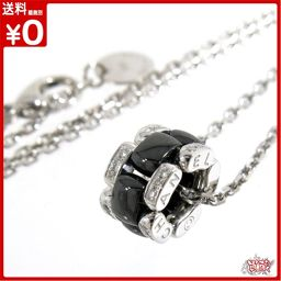 Ultra Collection Black Ceramic Mellay with Diamond Necklace (30PD)